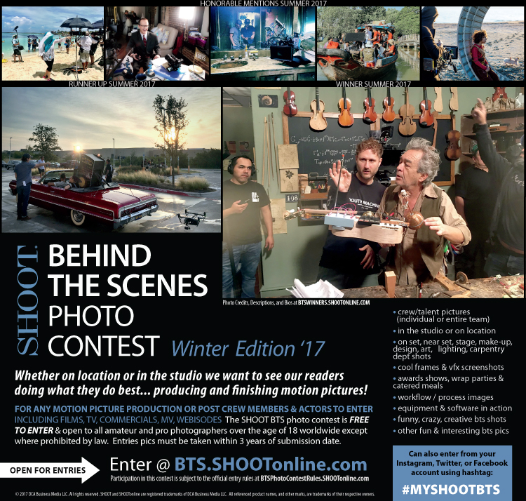 BTS Photo Contest | Call For Entries Open Throughout Academy